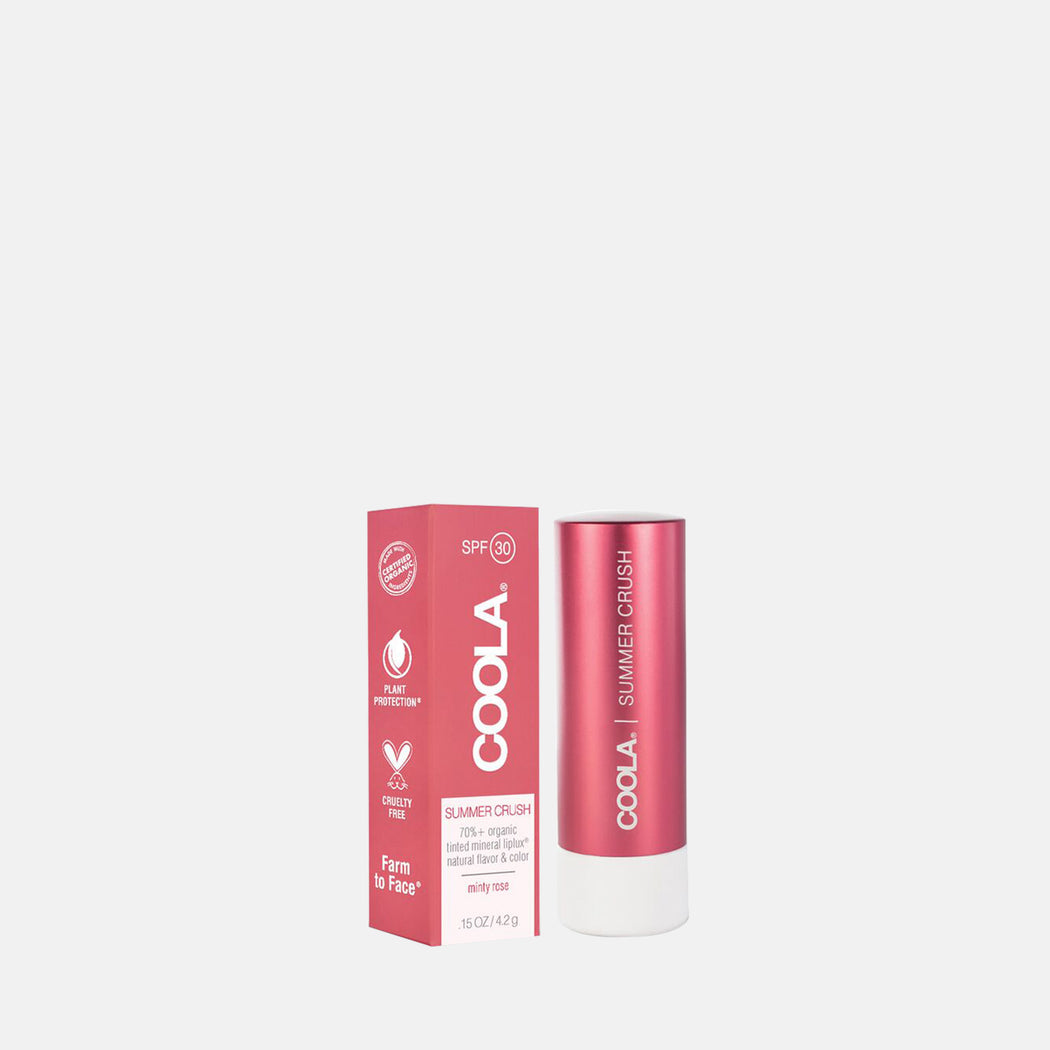 Coola Mineral Liplux SPF 30 –Summer Crush 4.2gm