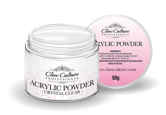 50g Crystal Clear Acrylic Powder