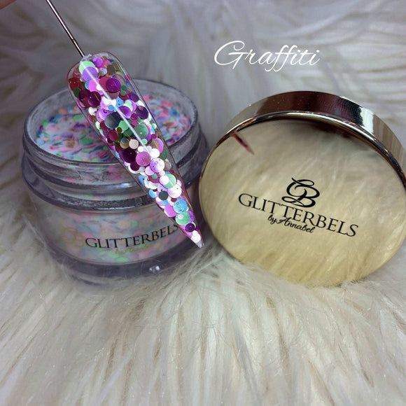 Glitterbels Acrylic Powder Graffiti 28g
