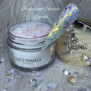 Glitterbels Iridescent Acrylic Powder Earth 28g