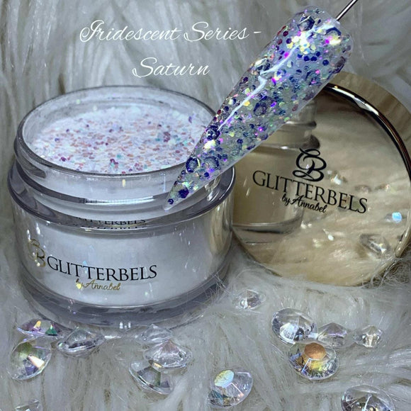 Glitterbels Iridescent Acrylic Powder Saturn 28g