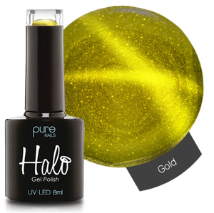 Halo Gel Polish 8ml Gold with Magnet