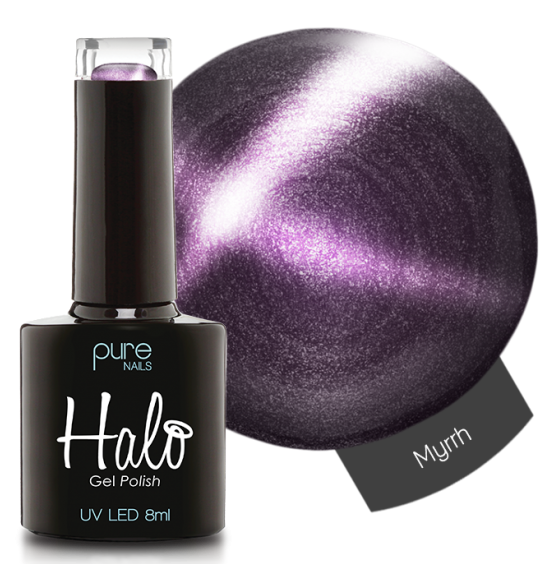 Halo Gel Polish 8ml Myrrh with Magnet