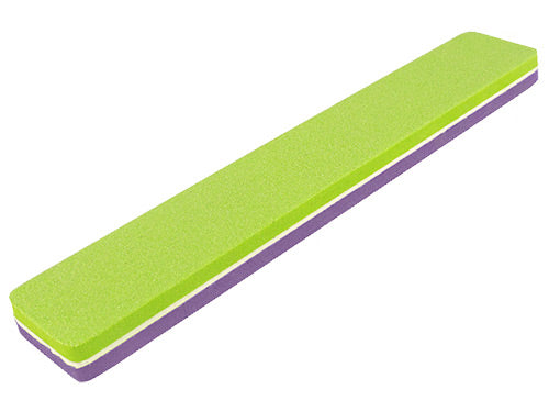 Premium Buffer File 120/180 Broad green purple