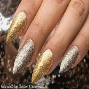 Metallic Nail Dust - Silver