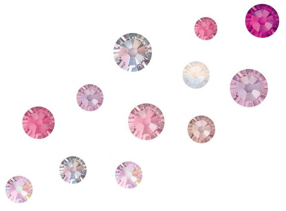 Swarovski Crystals mixed sizes pack 200 - Cute Mood