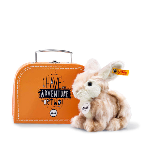 Steiff Melly Rabbit in Suitcase, 18 cm