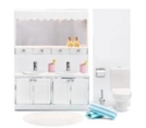 Lundby Smaland 2015 Bathroom Set (lights up)