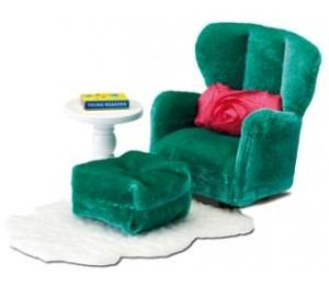Lundby Smaland 2015 Armchair with Footstool