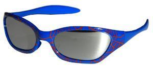 Kiddus Sunglasses - Sporty UV400 - Spider Blue