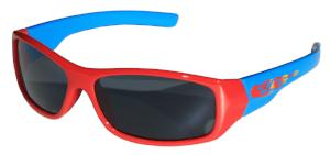 Kiddus Sunglasses - Sporty UV400 - Fire Red and Blue