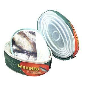 Scribbla Tin of Sardines Pencil Case