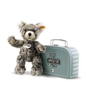 Steiff Lommy Teddy bear in suitcase, 25 cm