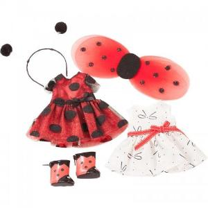 Götz Wardrobe - 27 cm - Ladybird Dress up and Yacht Dress Set, 5 pcs