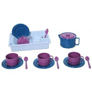 Plasto Sugar Cane Coffee Set for Four, 15 pieces