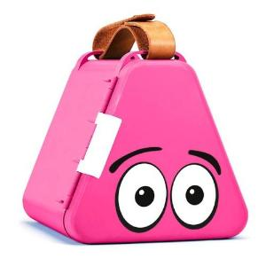 Teebee toy box - pink