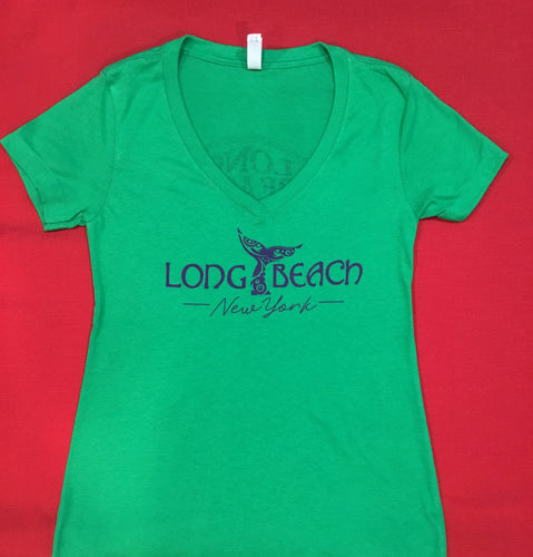 Irish Fest Whale V-neck