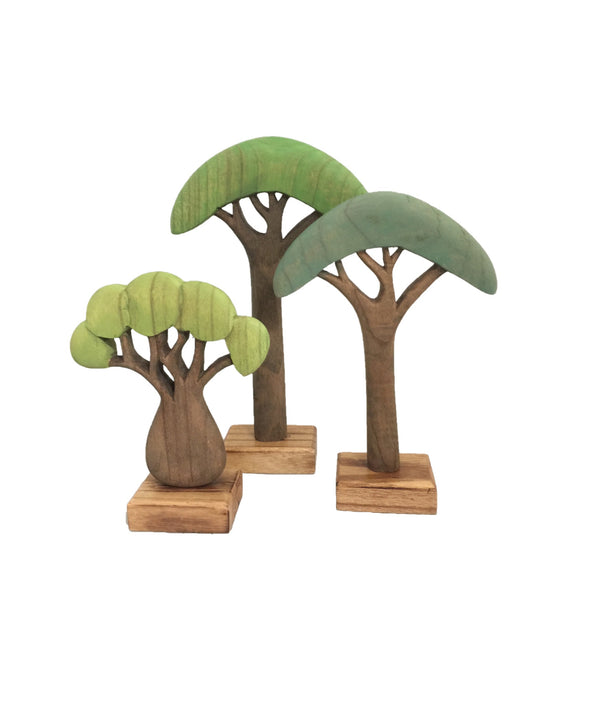 Africa Trees Coloured by Papoose Toys