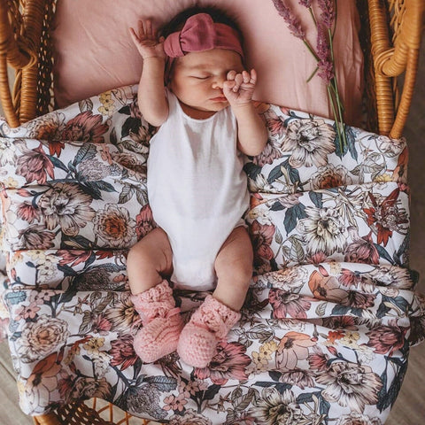 Australiana Organic Swaddle by Snuggle Hunny Kids