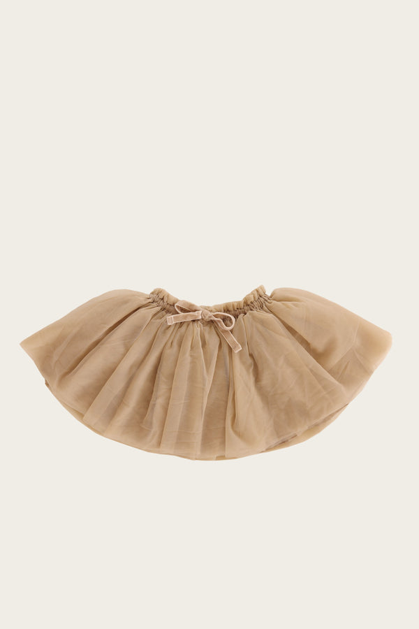 Tulle Skirt in Champagne by Jamie Kay