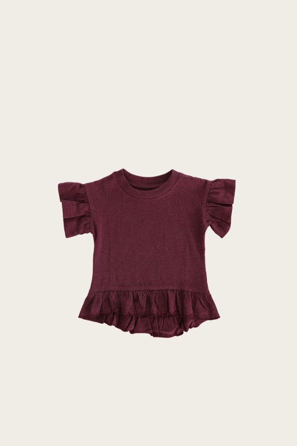 Eden Top in Plum by Jamie Kay