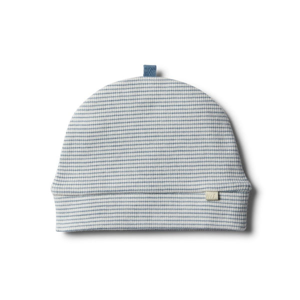 Faded Denim Beanie by Wilson and Frenchy