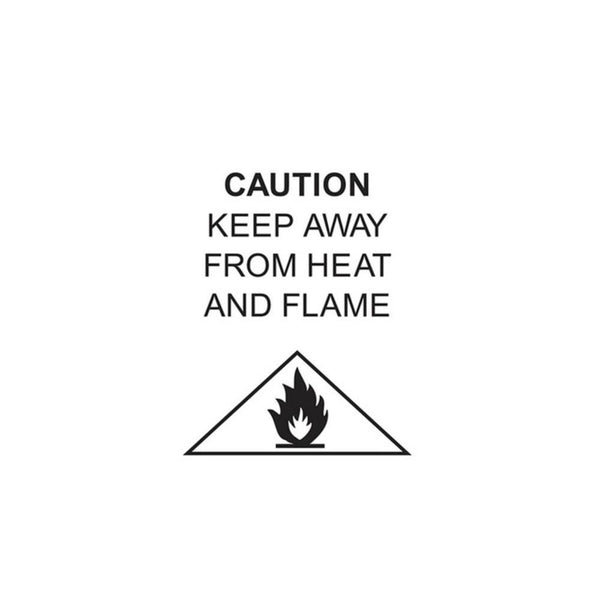 fire danger label