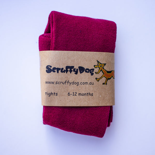 Scruffy Dog Tights - Little Cherished Co.