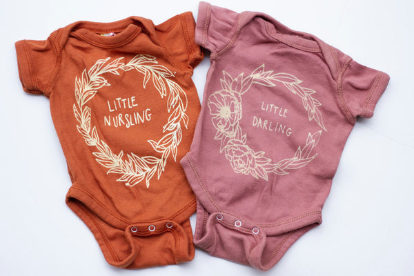 Little Nursling Onesie by Milos Corner - Little Cherished Co.