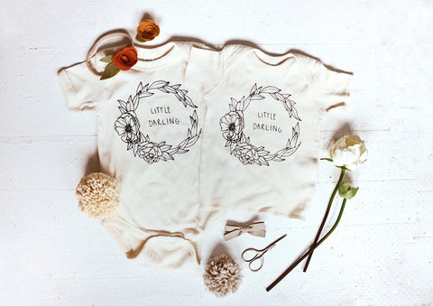 Little Darling Onesie by Milo's Corner