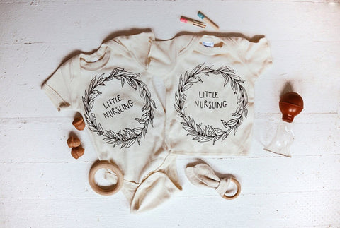 Little Nursling Onesie by Milos Corner