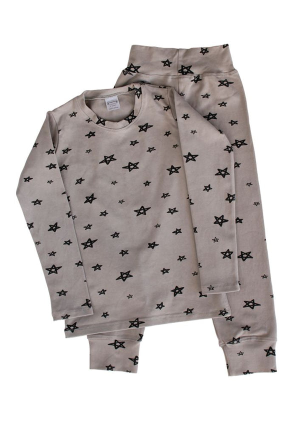 g dot nancy organic pyjamas rain stars long set