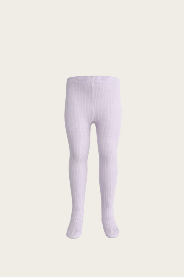 Ribbed Tights in Iris by Jamie Kay