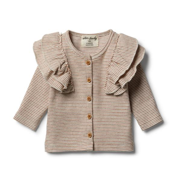 Toasted Pecan Cardigan by Wilson and Frenchy
