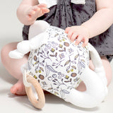 Soft Activity Play Block in Botanical - Little Cherished Co.