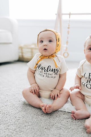 Darling, it's all about the little things - Onesie - Little Cherished Co.