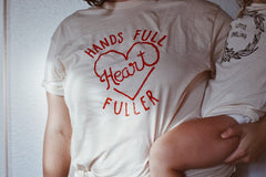 Hands Full Heart Fuller Tee by Milo's Corner