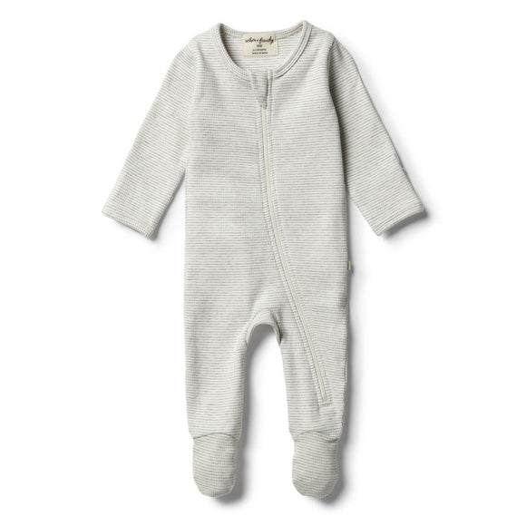 Cloud Grey Zipsuit by Wilson and Frenchy