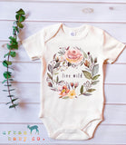 Live Wild Onesie/Tee - Little Cherished Co.
