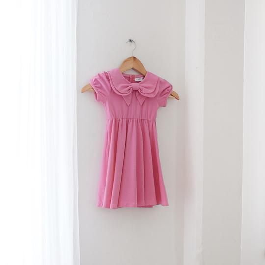 Sweet Pea Bow Dress by KCoulst Designs