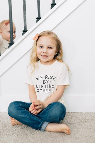We Rise By Lifting Others - Kids Tee - Little Cherished Co.