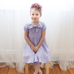 Wisteria Bow Dress by KCoulst Designs