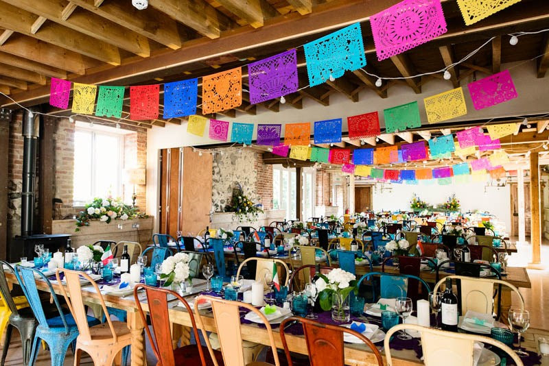 Talking about our Mexican Bunting - Papel Picado banners
