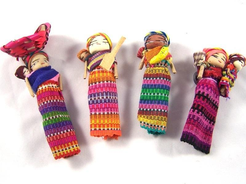Large magnetic worry dolls-worry dolls-Hammock Heaven