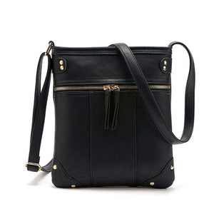 Xiniu Womens Leather Business Shoulder Messenger Bag Women's Satchel Crossbody Solid Bags para mujer #LREW