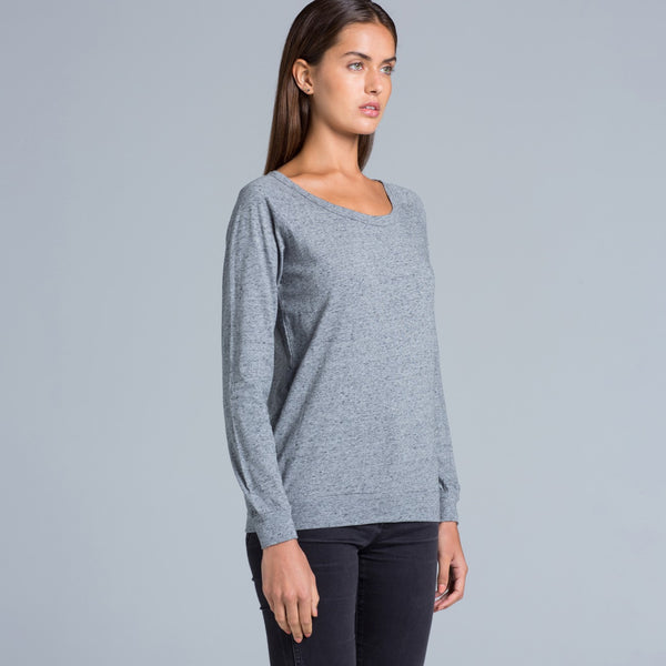 Ladies casual jumper, embroidered or blank, from $55 each