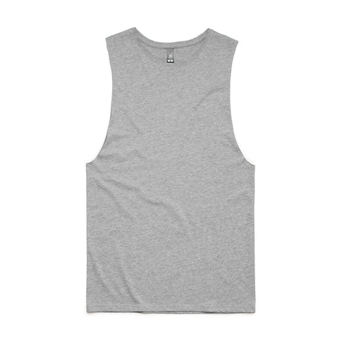 Men's tank singlet, screenprinted, in quantities of 10, 20, 50 or 100, from $18 each