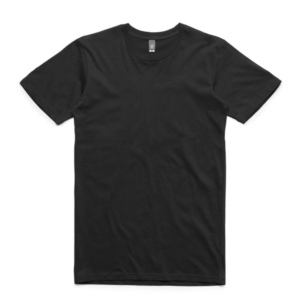 Men's basic t-shirts, screenprinted, in quantities of 5, 10, 20, 50 or 100, from $18 each