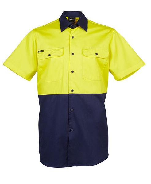 Men's hi vis safety shirt, various colours, screeprinted, in quantities of 5,10,20, 50, from $35 each