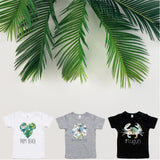 Baby destination print t-shirt - choose your baby's favourite destination $39.99 each